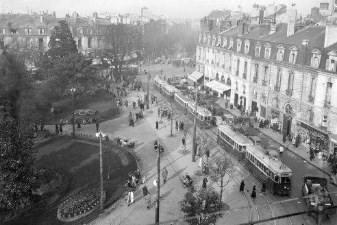 Bordeaux -Place Gambetta 1950